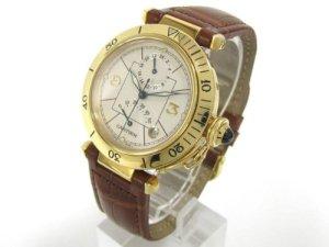 Cartier K18YG Pasha GMT
