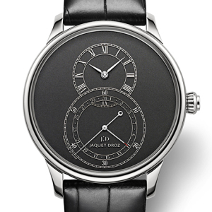 JAQUET DROZ Grande Seconde Quantieme All Black